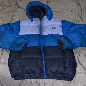 The North face reversible boys jacket